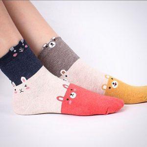 جوراب ساق دار فانتزی سه تیکه – فروشگاه آذینو