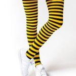 جوراب ساق بلند راه راه باریک زنبوری - فروشگاه آذینو