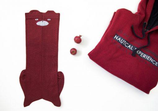 جوراب ساق بلند عروسکی ملانژ – فروشگاه آذینو