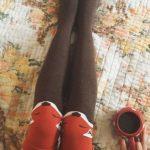 جوراب ساق بلند طرح روباه – فروشگاه آذینو