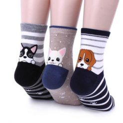 جوراب با طرح سگ های فانتزی | فروشگاه آذینو