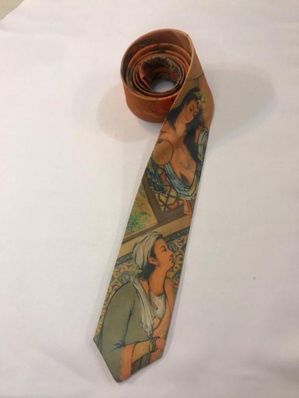 کراوات طرح لیلی و مجنون - آذینو
