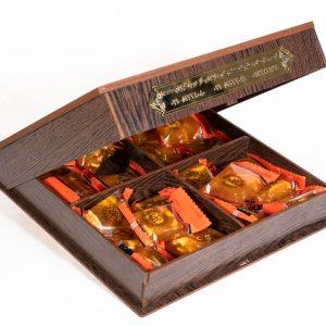 مسقطی جعبه چوبی لوکس کوچک کاشی کاری - آذینو